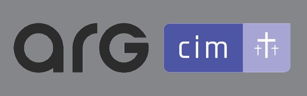 logo ARG CIM pour le lancement de la nouvelle version du logiciel.